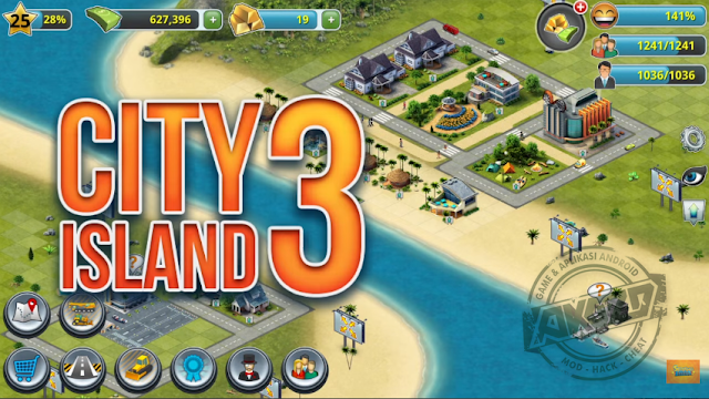 City Island 3 mod unlimited money