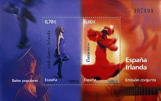 EMISIÓN CONJUNTA ESPAÑA-IRLANDA
