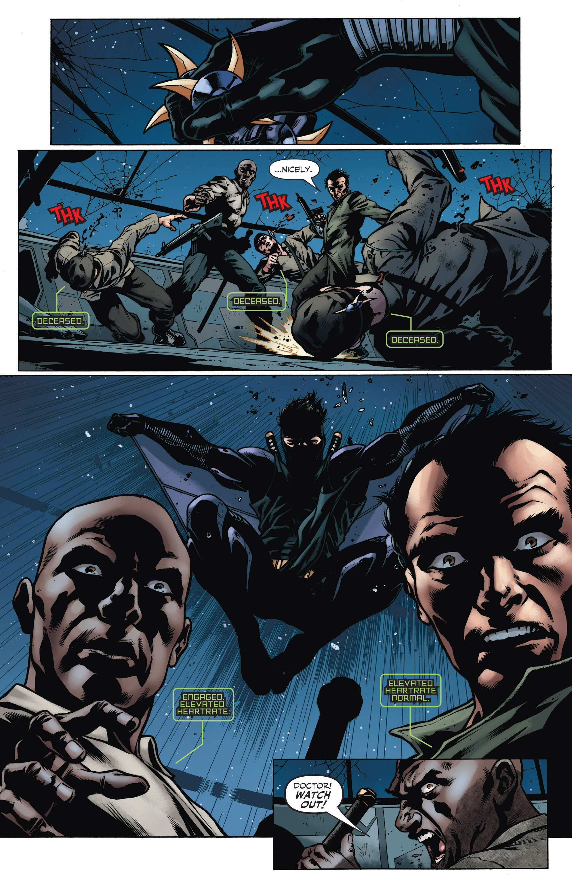Read online Bloodshot and H.A.R.D.Corps comic -  Issue #19 - 29