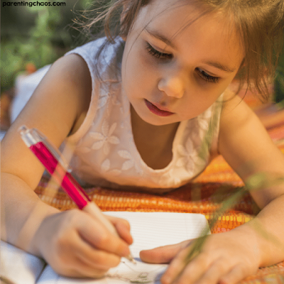How journaling helps children with emotions.