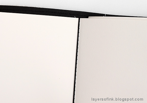 Layers of ink - Wrapped Felt Journal Tutorial by Anna-Karin Evaldsson