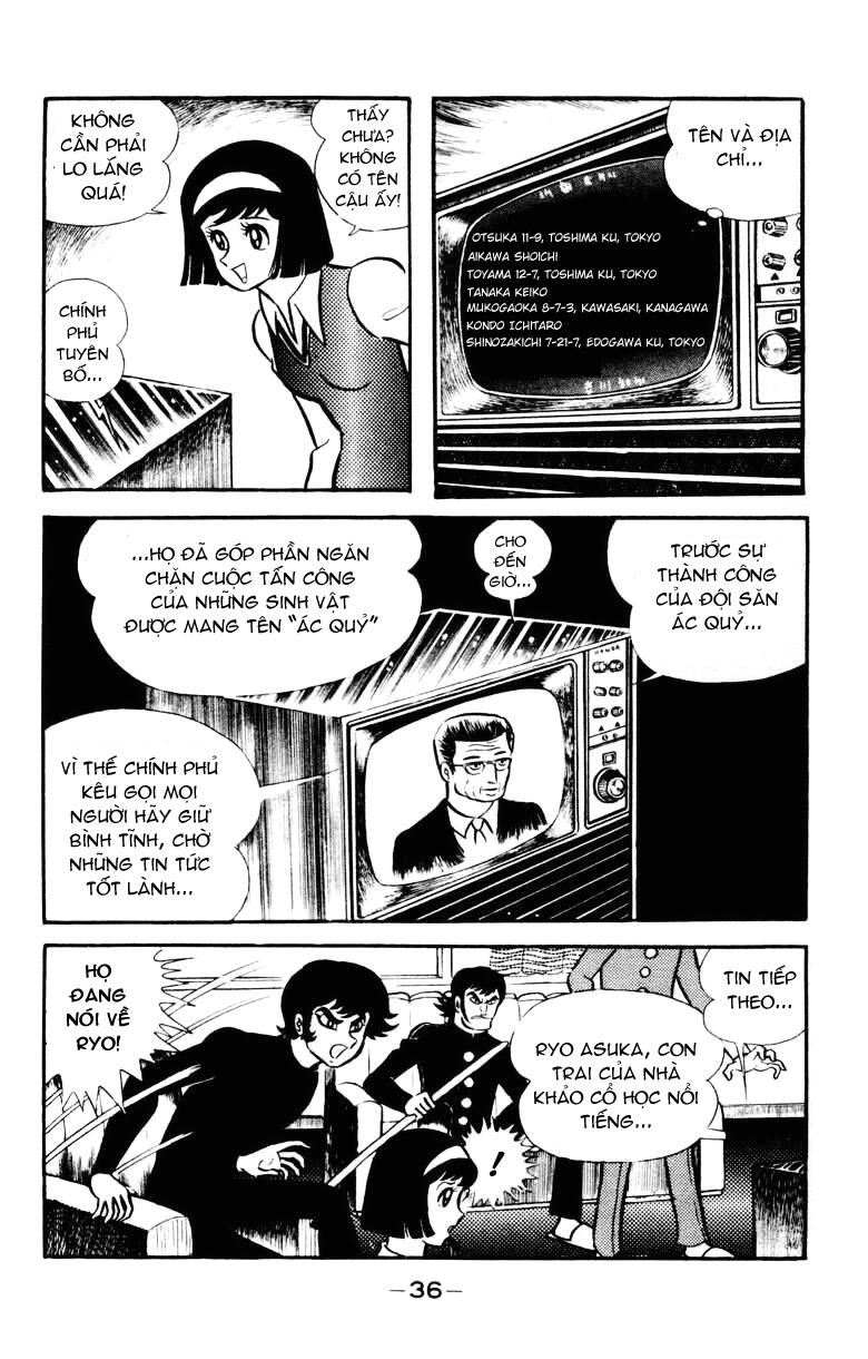DevilMan chapter 22.1 trang 31