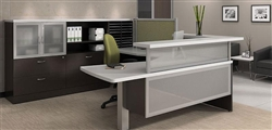 Luxurious Guest Reception Desk