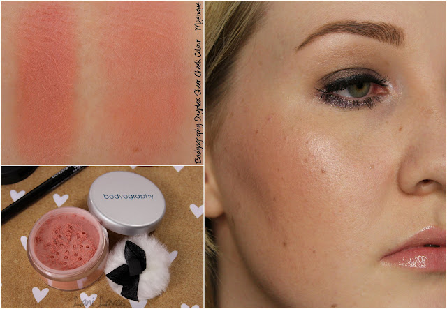 Bodyography Oxyplex Sheer Cheek Colour - Mystique Swatches & Review