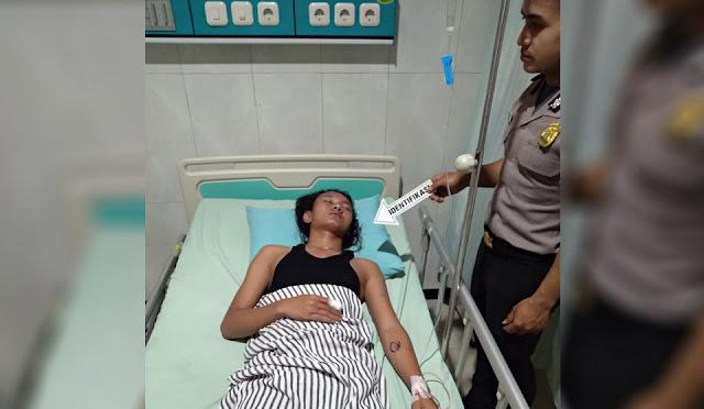 Kondisi Korban saat dirawat di RSUD dr. Haryoto