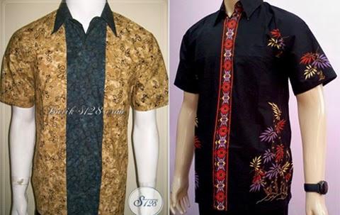model baju batik kemeja pria