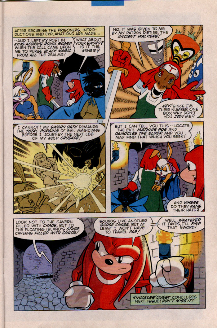 Read online Sonic The Hedgehog comic -  Issue #45 - 27