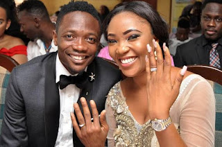 Photos from Ahmed Musa's wedding to his girlfriend Juliet
