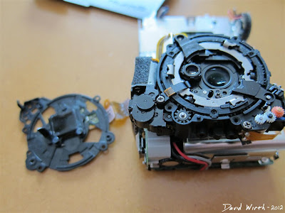 disassemble infrared camera canon lens