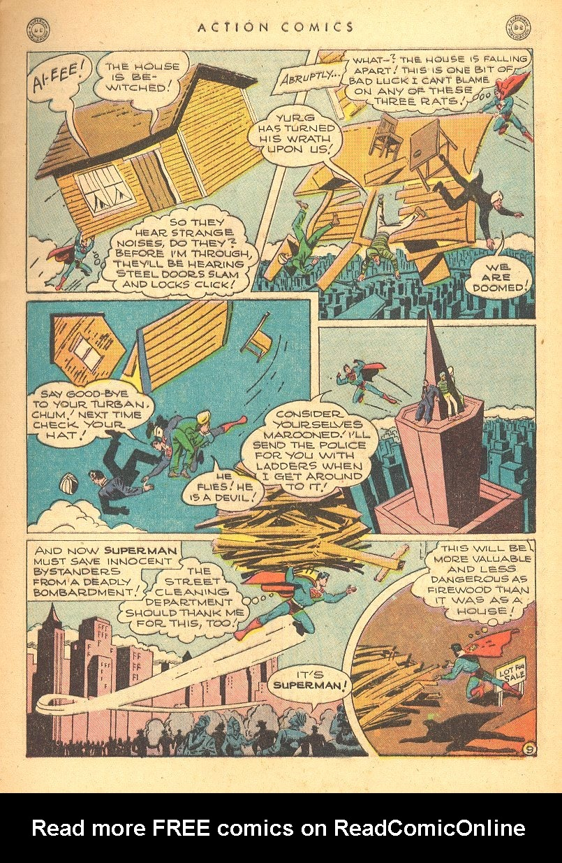 Read online Action Comics (1938) comic -  Issue #99 - 11