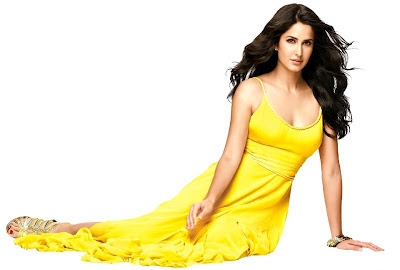 yup fashion: Katrina Kaif In Yellow Dress