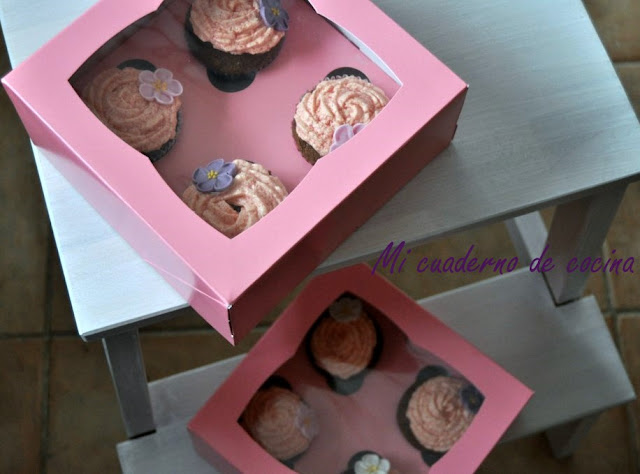 Cupcakes dos chocolates