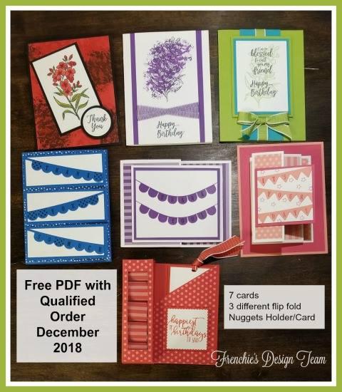 Free, PDF, Pick a Pennant, Southern Serenade, Stampin'Up!