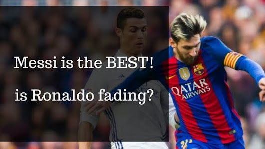 Messi on the sublime; is Ronaldo fading away?