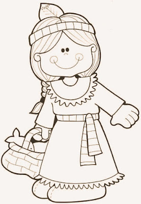 happy halloween thanksgivin coloring page
