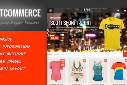 SpotCommerce V1.6.0 – Blogger Shopping Template
