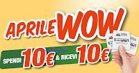 Logo Aprile WOW: spendi 10€ e ricevi subito un buono sconto da 10€ per i tuoi Pet