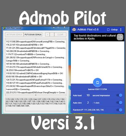 Download Admob Pilot v3 1 - Sahabat AGC