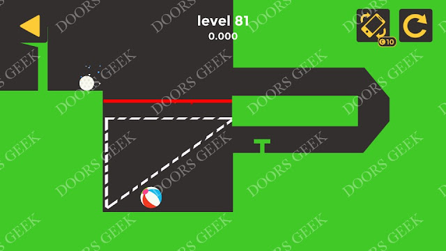 Ball & Ball Level 81 Solution, Walkthrough, Cheats for android and ios