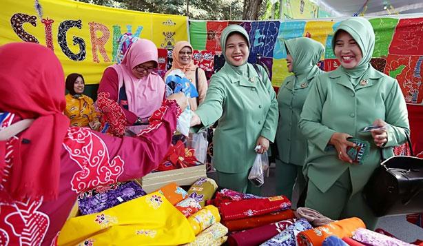Salah satu lapak di Pasar Murah Ramadan