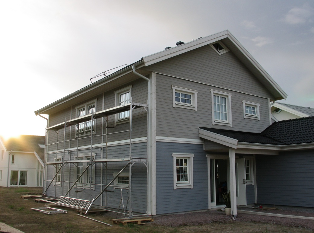 Colori per esterni di una casa moderna e minimal. Colori Case Esterni Foto