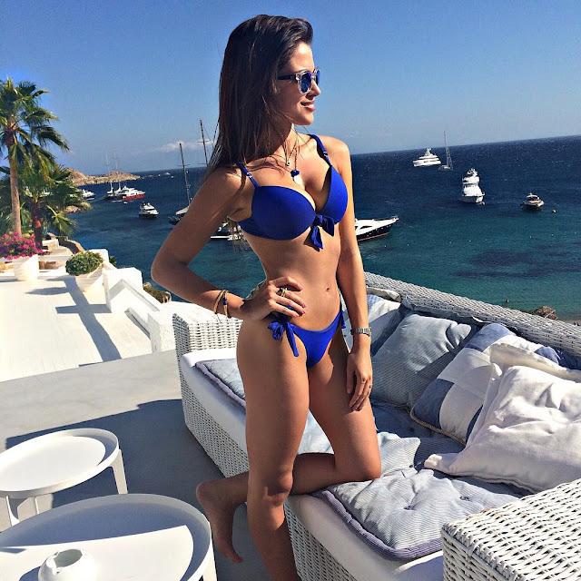 Catarina Sikiniotis Hot, Bold, Beautiful and Sexy in Bikini