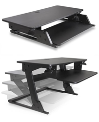 Sit To Stand Desk Surface Convertor