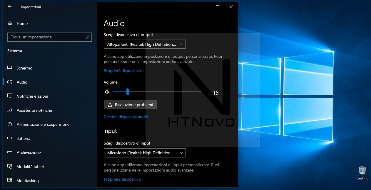 Soluzioni-Audio-assente-Windows 10