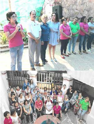 Inauguran el Curso de Capacitación a comedores comunitarios y escolares del municipio de Taxco
