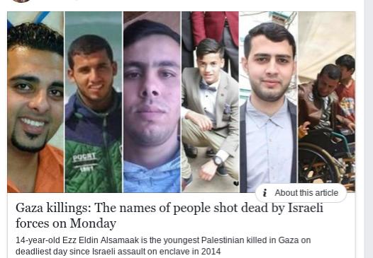 censored news  israeli massacre of palestinians after trump declares jerusalem capital of israel