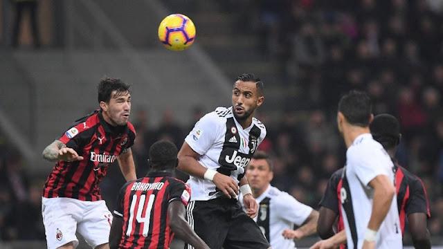 Juventus Gasak AC Milan 2-0 di San Siro