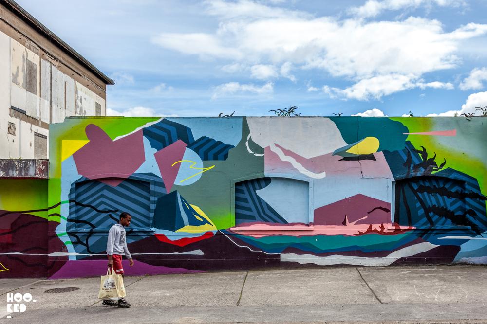 Irish Street Artist Lebas Mural in Waterford, Ireland. Photo ©Hookedblog