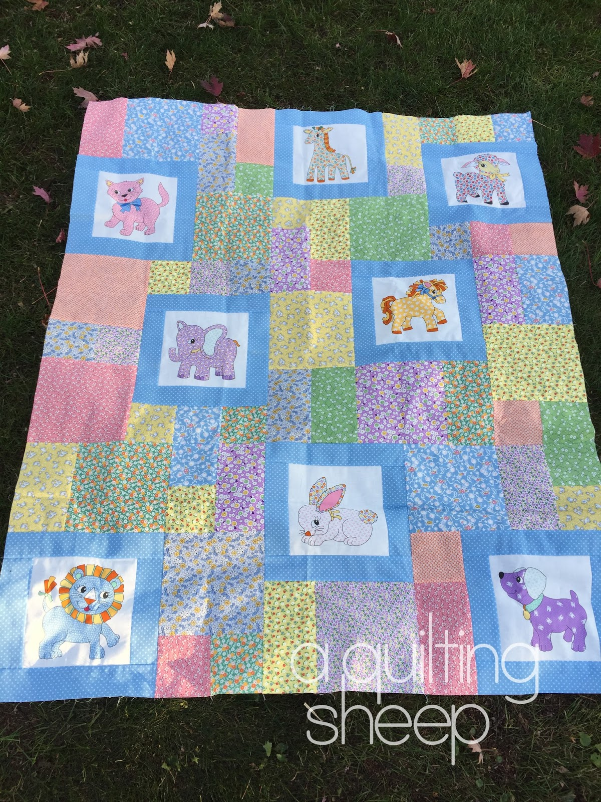 A Quilting Sheep: Quick easy quilt patterns