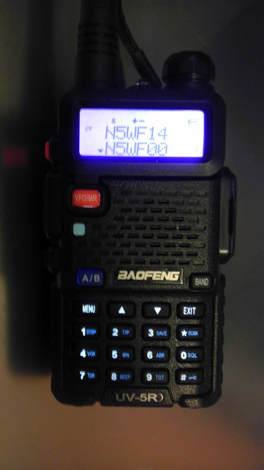 Electronic Diversions: Baofeng UV-5R   how do I program it?