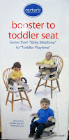 Carter's  Booster to Toddler Seat