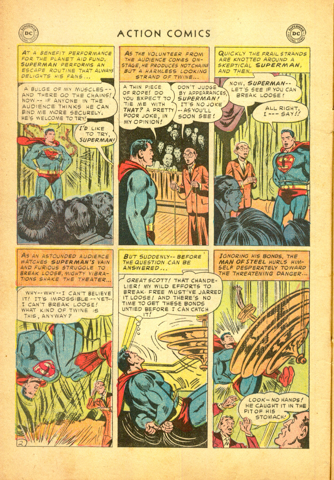 Read online Action Comics (1938) comic -  Issue #174 - 4