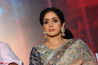 Sri Devi in designer saree stunning beauty at the launch of MOM movie Trailer~  Exclusive 102.JPG