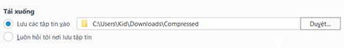 Cách thay đổi thư mục tải về mặc định trên các trình duyệt thông dụng-12