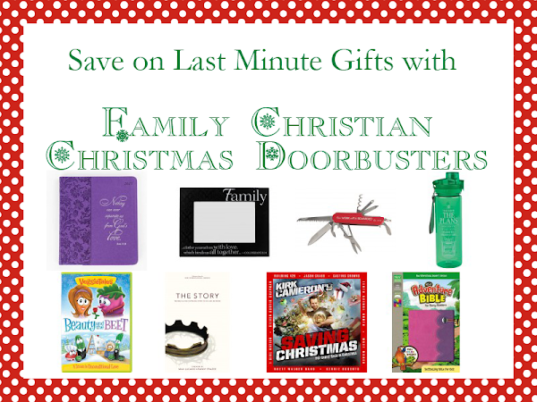 Save on Last Minute Gifts with Family Christian Christmas Doorbusters!!