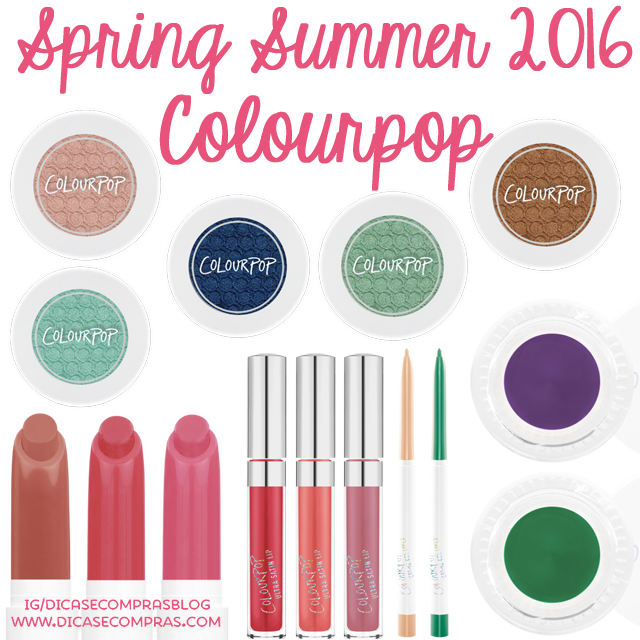 Spring Summer 2016 ColourPop