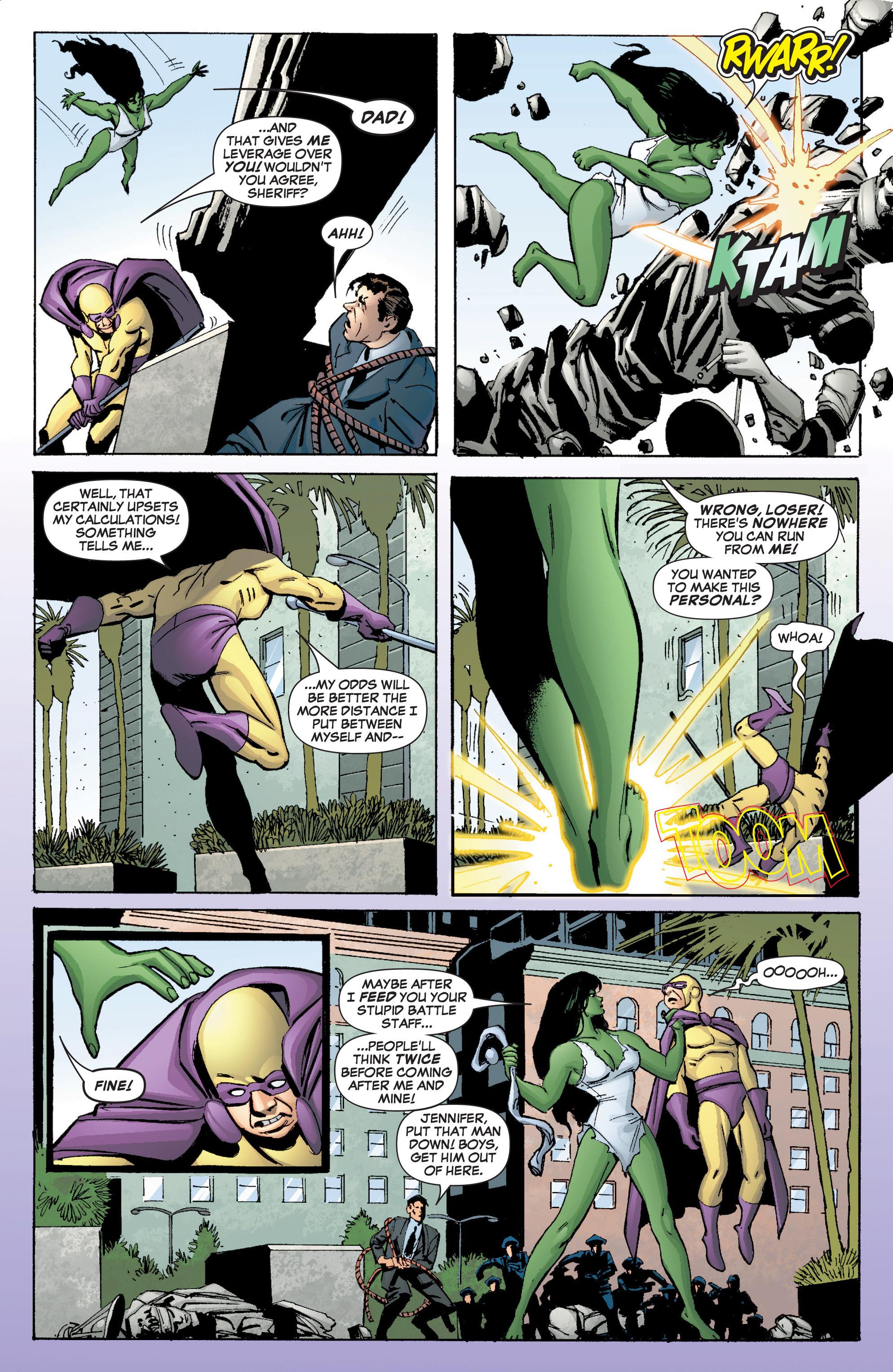 Read online She-Hulk (2005) comic -  Issue #3 - 12