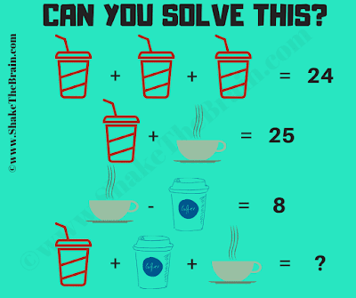 It is Math Picture Puzzle for Kids in which your task is to find the value of the missing number