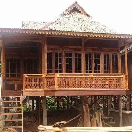 Rumah  Kayu knock down Type 48  m2 6x8 Rumah  Kayu