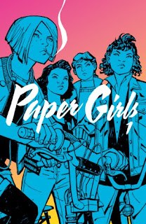 REVIEW - Paper Girls Volume One by Brian K Vaughan & Cliff Chiang Sci Fi Graphic Novel