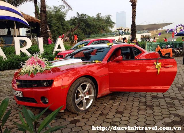 Cho thuê xe cưới Chevrolet Camaro VIP sang trọng giá rẻ tại Hà Nội