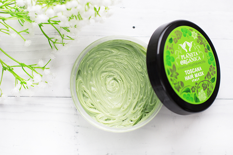 Planeta Organica Toskańska maska do włosów