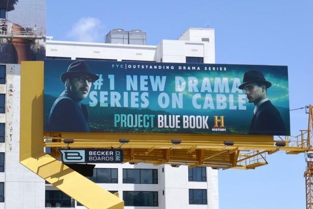 Project Blue Book season 1 Emmy FYC billboard
