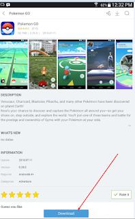 Download Game Pokemon Go Untuk HP Android
