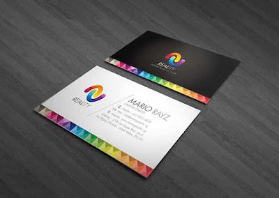 mẫu name card sáng tạo