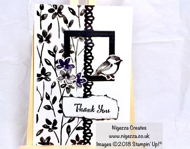 Stampin' Up!® Petal Palette Thank You Card